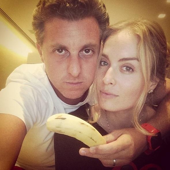 Luciano Huck e Angélica - Crédito: Reprodução Instagram