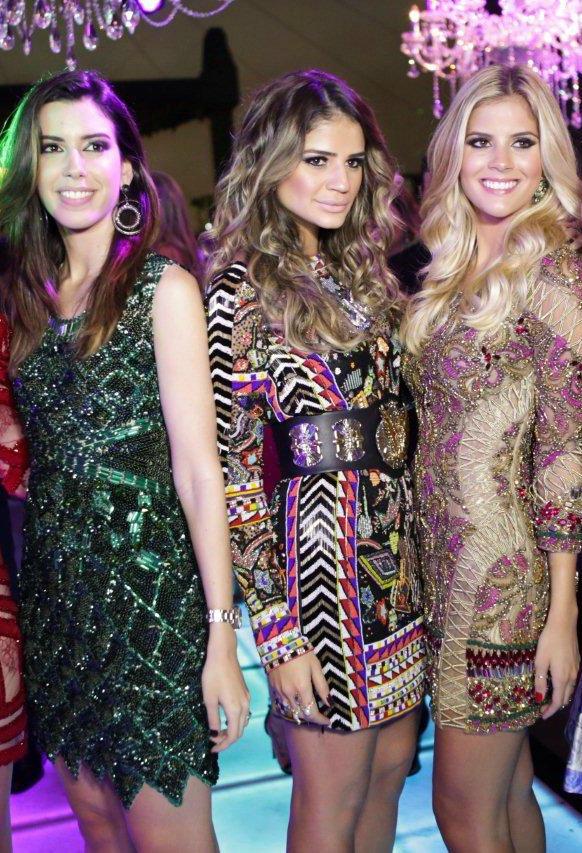 Camila Coutinho, Thassia Naves e Lala Rudge - Crédito: Reprodução do Instagram