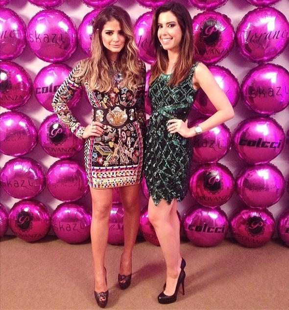Thássia Naves e Camila Coutinho - Crédito: Reprodução do Instagram