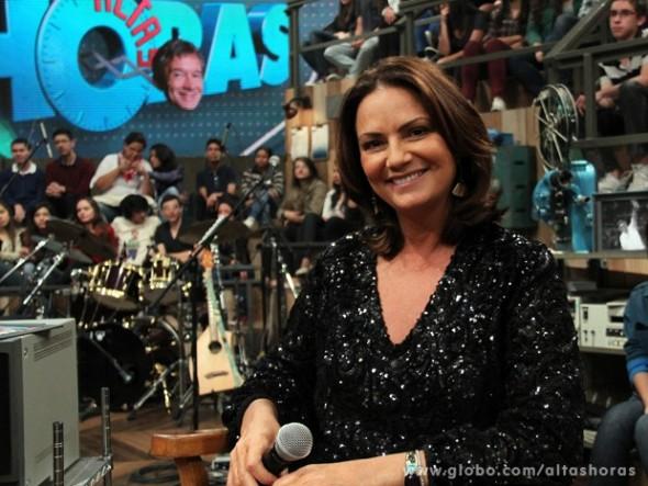 Luiza Brunet Crédito: TV Globo/Divulgação