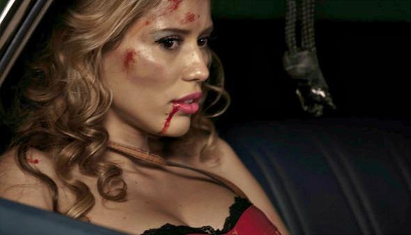 Rebeca da Costa incorporou a personagem Rivka no filme Profissão de Risco - Crédito: Califórnia Filmes/Divulgação