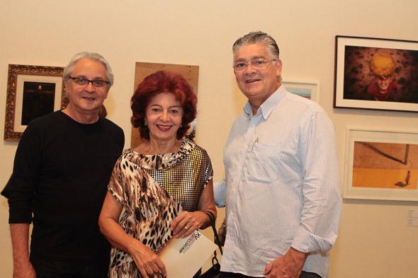 Luiz Augusto Moraes,Liliana Falangola e Cassiano Falangola - Crédito: Nando Chiappetta/DP/D.A Press