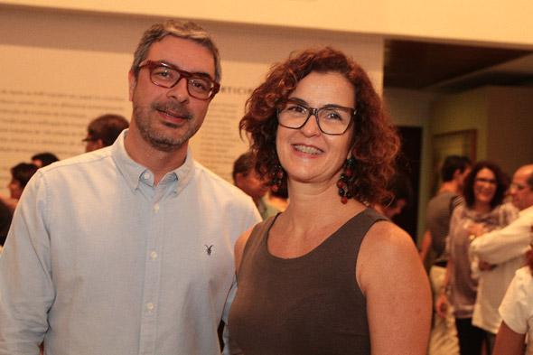 Waldemir Farias e Paula Regina Trindade - Crédito: Nando Chiappetta/DP/D.A Press