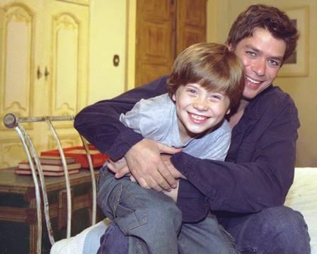 Pedro viveu Lipe, na novela Coração de Estudante, que era filho do personagem de Fábio Assunção - Crédito: TV Globo/Divulgação