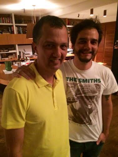 Murilo Cavalcanti e Wagner Moura - Crédito: Cortesia