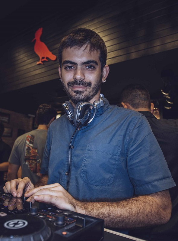 DJ Ravi Moreno - Crédito: Navalha Studio/Divulgação
