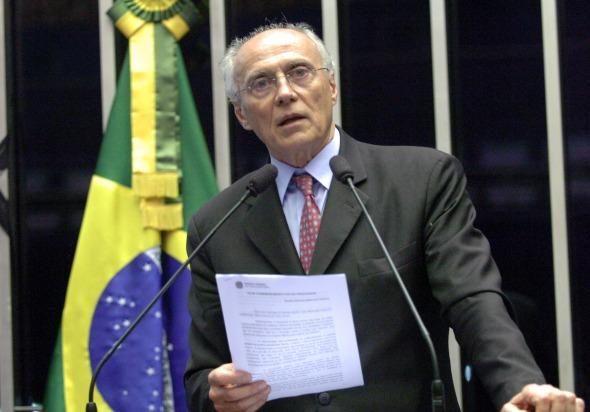 Eduardo Suplicy - Crédito: Waldemir Barreto/Agência Senado