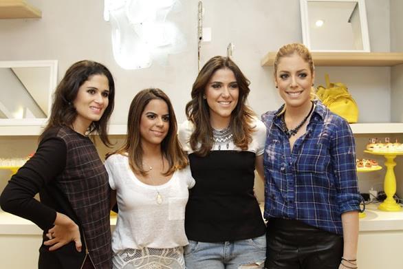 Gabriela Queiroz Galvão, Manuela Tenório, Dani Mattar e Fabiana Justus. Crédito: Guilherme Veríssimo/Esp.DP/D.A Press