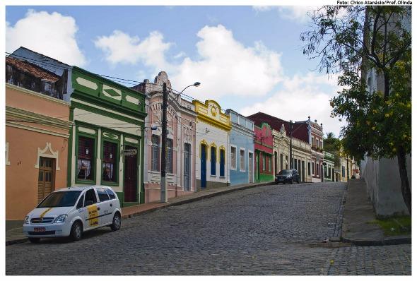 Sítio Histórico de Olinda  Crédito: Chico Atanásio/Pref.Olinda