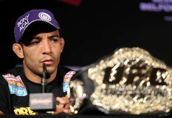 José Aldo Crédito: UFC/Divulgação