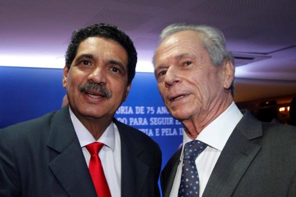 João Paulo (esquerda) e Ricardo Essinger - Crédito: Ricardo Fernandes/DP/D.A Press