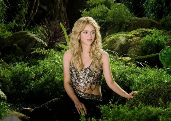 A cantora Shakira Crédito: Reprodução Youtube