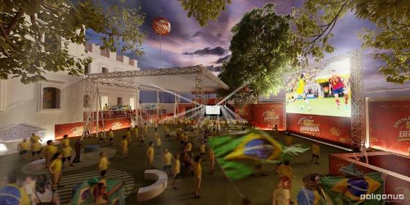 Crédito: Arena da Brahma/Divulgação