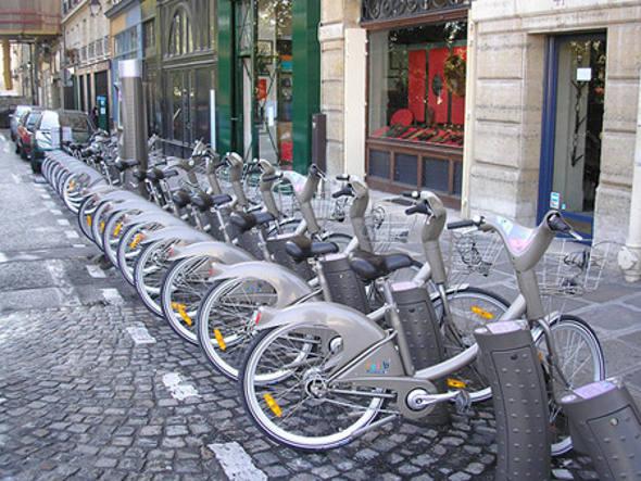 Bicicletas para alugar em Paris