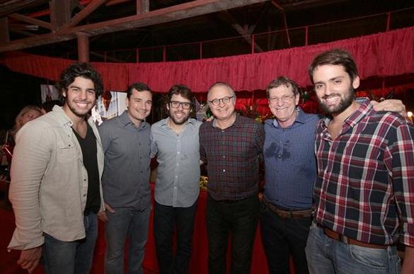 Produtores reunidos no São João Carvalheira - Crédito: Charles/Divulgação