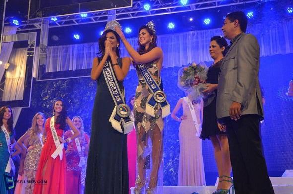 Coroação do Miss Pernambuco 2014. Crédito: Divulgação