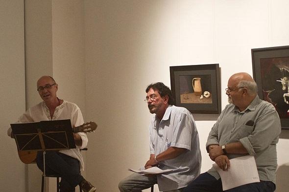 Realizadores do evento- Crédito: Sarau Plural/Divulgação