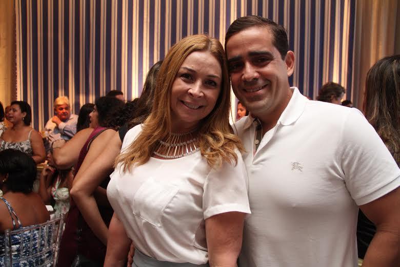 Patrícia Suassuna e Jean Ebrahim Crédito: Allan Torres/Esp. DP/D.A.Press.