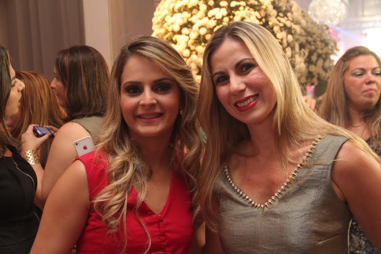 Stefanie Caroline e Kaline Brayner Crédito: Allan Torres/Esp. DP/D.A.Press.