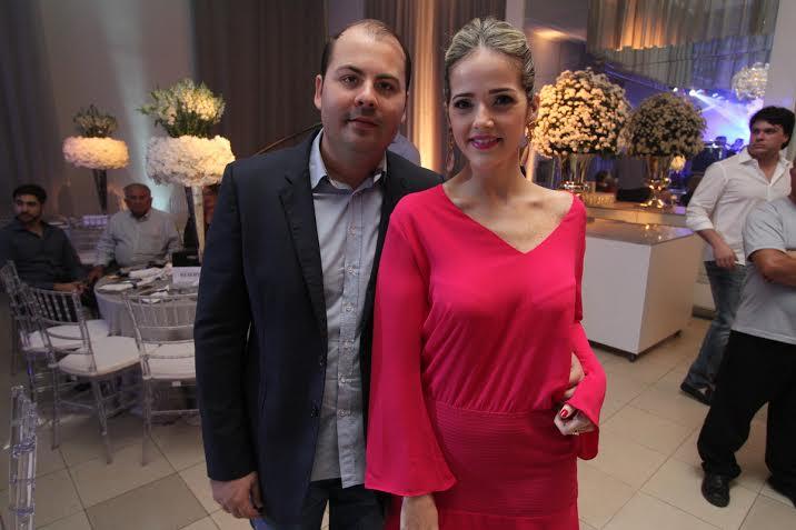 Eduardo Feitosa e Marília Vieira Crédito: Allan Torres/Esp. DP/D.A.Press.