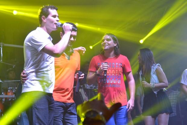 Pedro, Thiago e Douglas - Crédito: Larissa Nunes/Divulgação