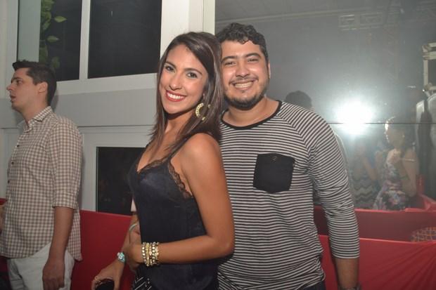 Rafaela Lucena e Tiago Sampaio - Crédito: Larissa Nunes/Divulgação