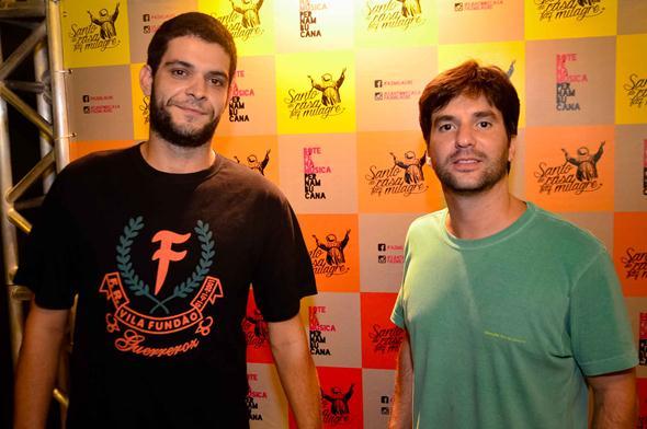 Vinicius Carvalho e Pedro Toscano - Crédito: Guilherme Paiva/Divulgação