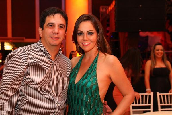 Gustavo e Luana Negromonte -  Crédito: Paulo Paiva/DP/D.A Press