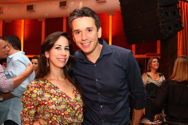 Fabiana e Felipe Carreras - Crédito: Paulo Paiva/DP/D.A Press