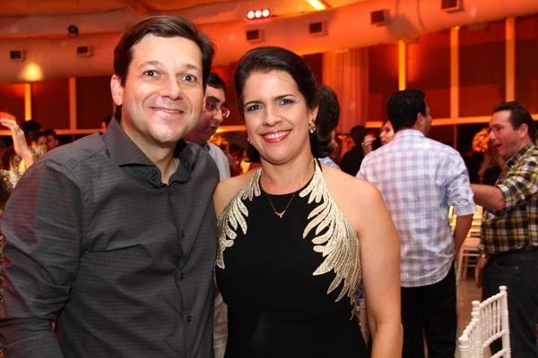 Geraldo Julio e Cristina Mello - Crédito: Paulo Paiva/DP/D.A Press