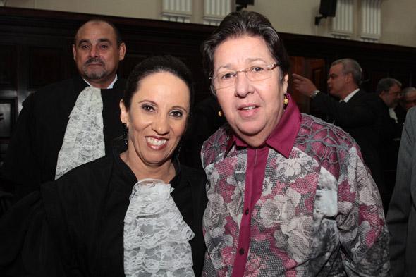 Dayse Andrade e Margarida Cantarelli Crédito: Nando Chiappetta/DP/D.A Press