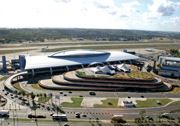 Aeroporto dos Guararapes - Crédito: http://www.infraero.gov.br/