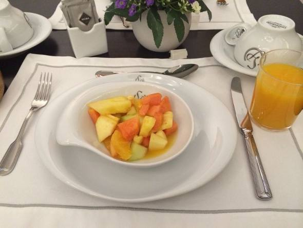 O café da manhã do Lisboa Prata
