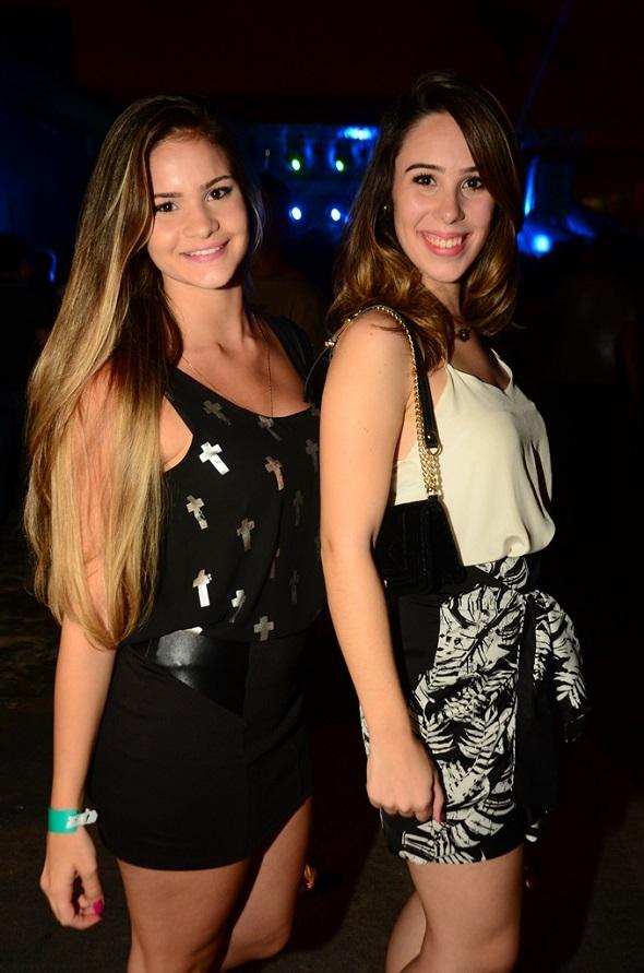 Jennifer Slater e Maria Paula Coelho - Crédito: Danilo Sá/Divulgação