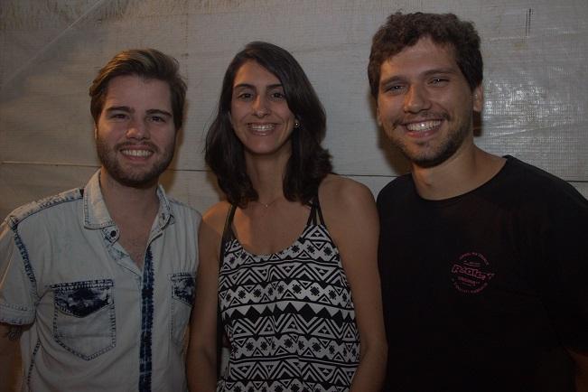 Xande Medeiros, Mariana Prota e Victor Melcop -  Crédito: Máquina 3/Divulgação