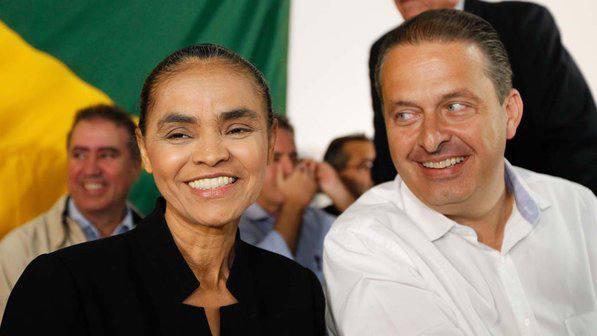Eduardo Campos e Marina Silva - Crédito: /PSB/Divulgação