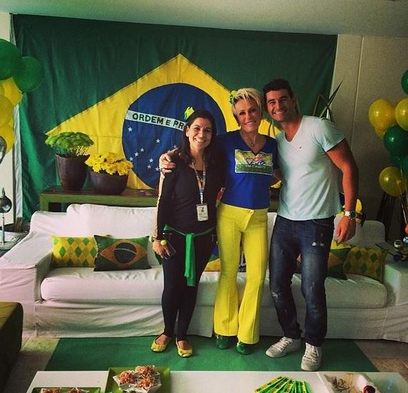 Ana Maria Braga Crédito: Instagram