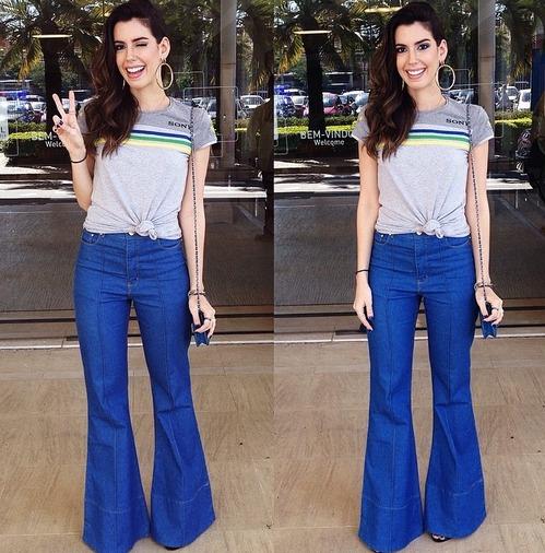 O look de Camila Coutinho Crédito: Instagram