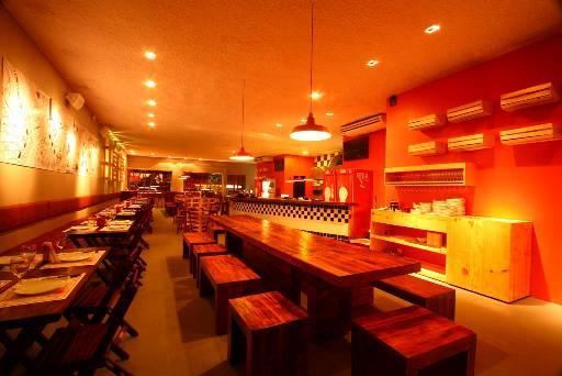 Imagem do restaurante Casa dos Bárbaros que dará lugar ao #Hashtag Bar – Crédito: José Henrique/Divulgação