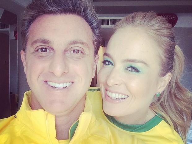 Luciano Huck e Angelica Crédito: Instagram