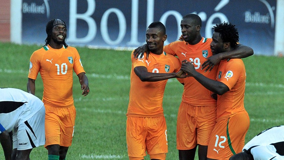 Costa do Marfim Crédito: Divulgação/pt.fifa.com/worldcup/teams/
