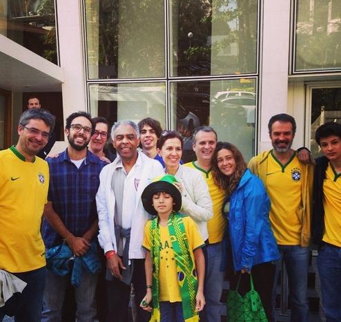 Gilberto Gil e família Crédito: Instagram
