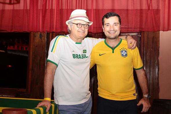 Eduardo Carvalheira e Geraldinho Bandeira - Crédito: Nando Chiappetta/DP/D.A Press