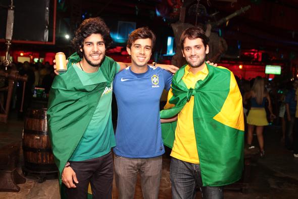 José Pinteiro, Rafael Lobo e Jorge Peixoto - Crédito: Nando Chiappetta/DP/D.A Press