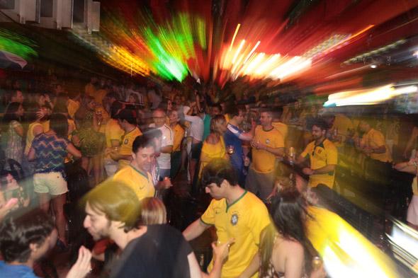 Brasil e Croácia na Carvalheira - Crédito: Nando Chiappetta/DP/D.A Press