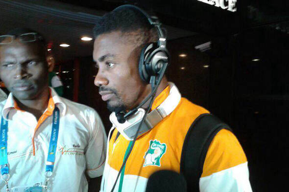 Salomon Kalou, da Costa do Marfim/Daniel Leal/DP
