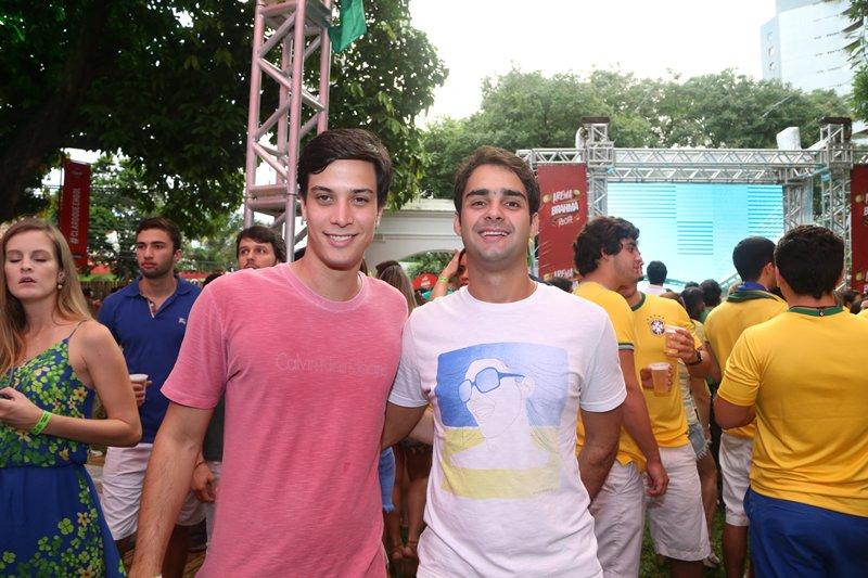Eduardo Campello e Romero Freyre Crédito: Humberto Reis e Duda Carvalho/ Comunnik
