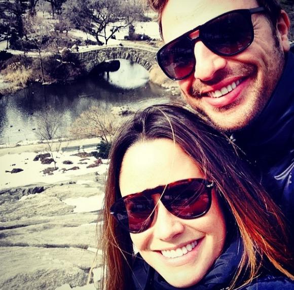 Fernanda Vasconcellos e Cássio Reis estão em Noronha Crédito: Instagram de Fernanda