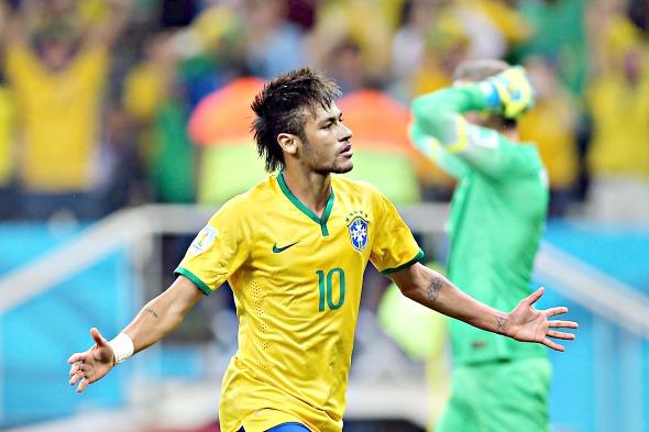 Neymar - Crédito: Jefferson Bernardes/Divulgação