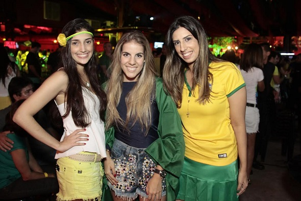 Isabela Vieira, Vitória Pinteiro e Maria Clara Moreira - Crédito: Gleyson Ramos/Divulgação
